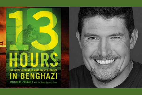 Kris 'Tanto' Paronto Co-Author of 13 Hours